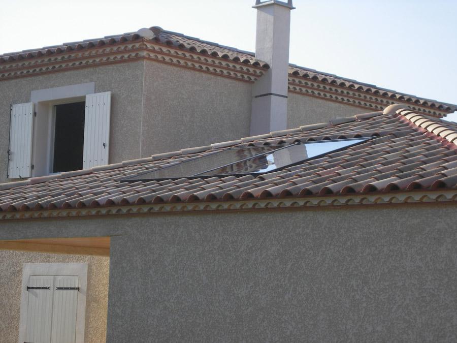 Solaire thermique chauffe eau solaire individuel chauffe eau solaire thermi - Liquide caloporteur panneau solaire ...